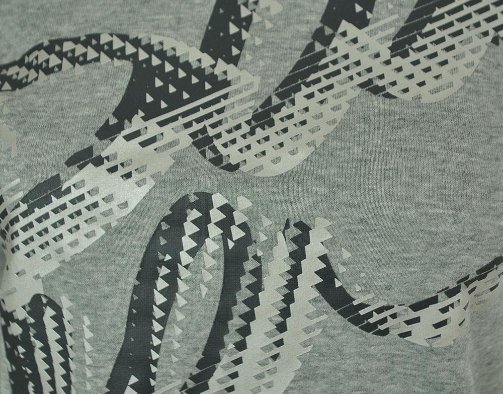Puma Script Sweatshirt Tunic Damen Sweatshirt Grau – Bild 2
