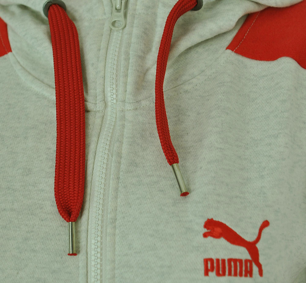 Puma athletic Hooded Sweat Jacket Damen Kapuzenpullover Hoody Sweatjacke Weiß – Bild 2
