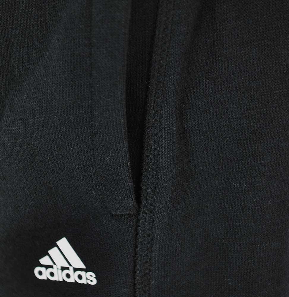 Adidas ESS MID 3S Pant ClimaLite Damen Hose Sweathose Schwarz – Bild 2