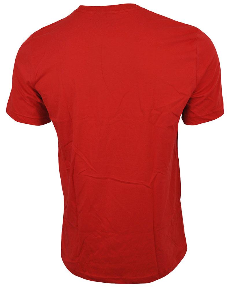 Adidas Fresh Trefoil Mens Tee Originals Herren T-Shirt Rot – Bild 3