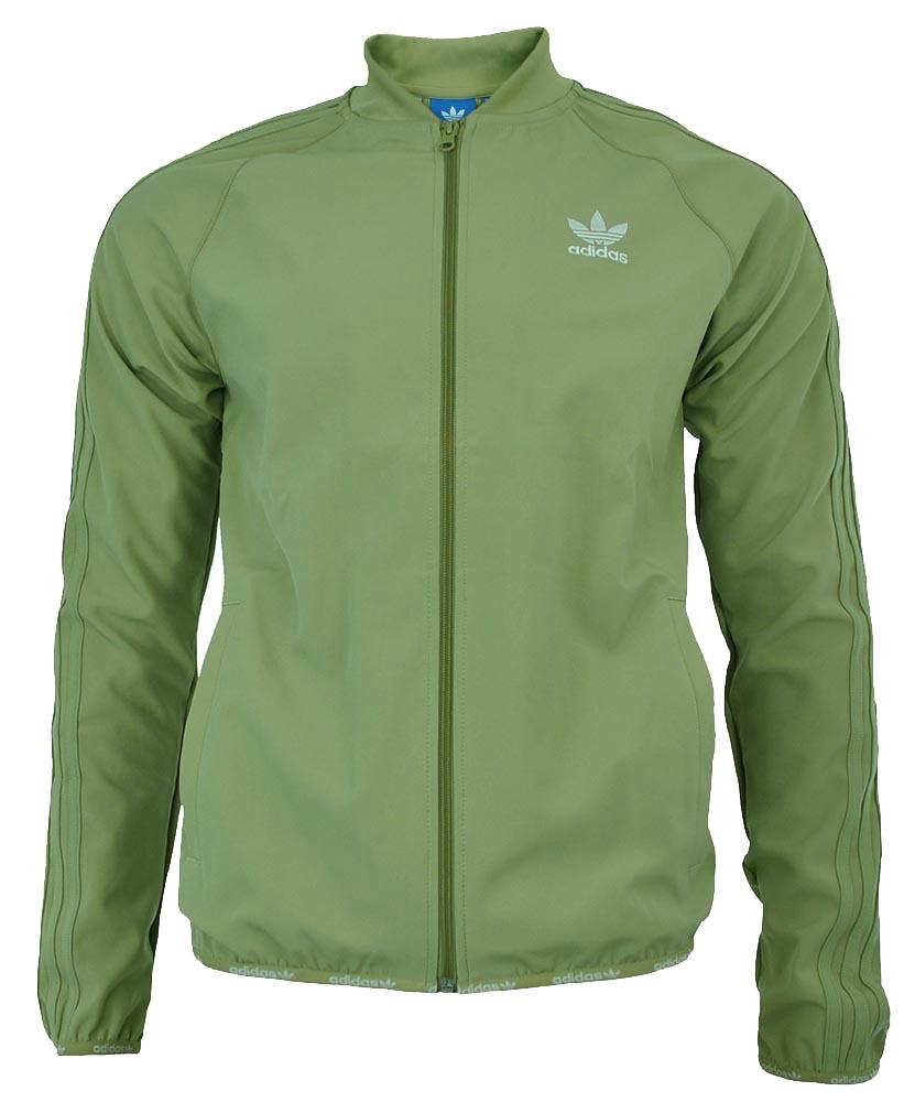 70d89e98388c5d Adidas SST TT 2.0 Originals Trefoil Herren Track Top Jacket Jacke Hemp