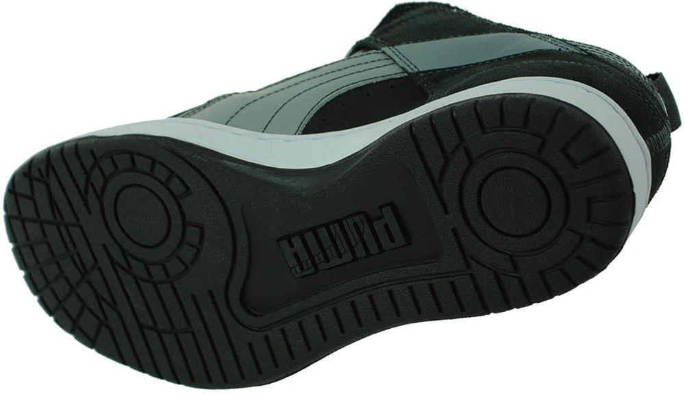 Puma Grifter S Sneaker Mens Herren Freizeit Leder Schuhe Schwarz/Grau 40 – Bild 3