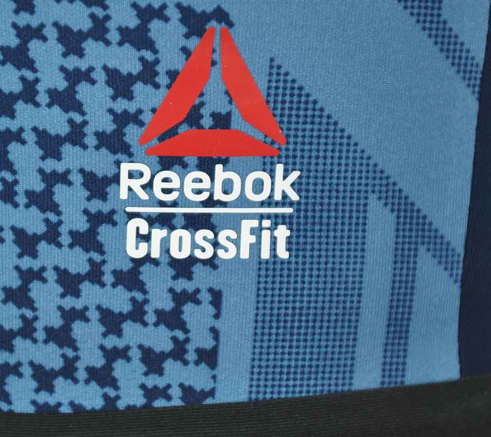 Reebok RCF Chase Bootie Short Reversible Damen Studio Fitness CrossFit Shorts Navy – Bild 3