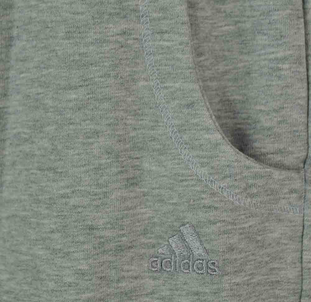 Adidas ESS Knit Pant Climalite Cotton Stretch Damen Sporthose Shorts Grau – Bild 2