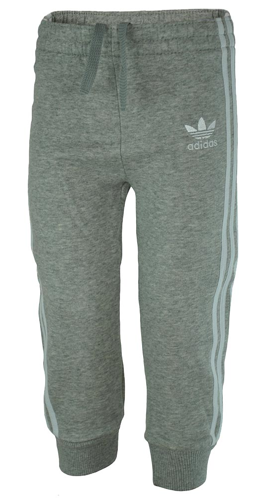 Adidas J Le Superstar Pants Baby Infants Originals Firebird Hose Trainingshose Grau 001