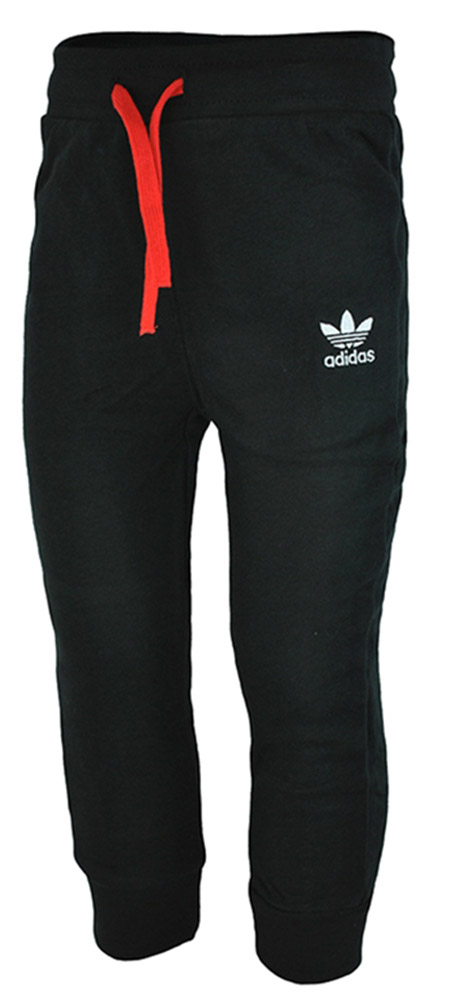 Adidas I YWF HFL Pants Baby Infants Originals Firebird Hose Trainingshose Schwarz