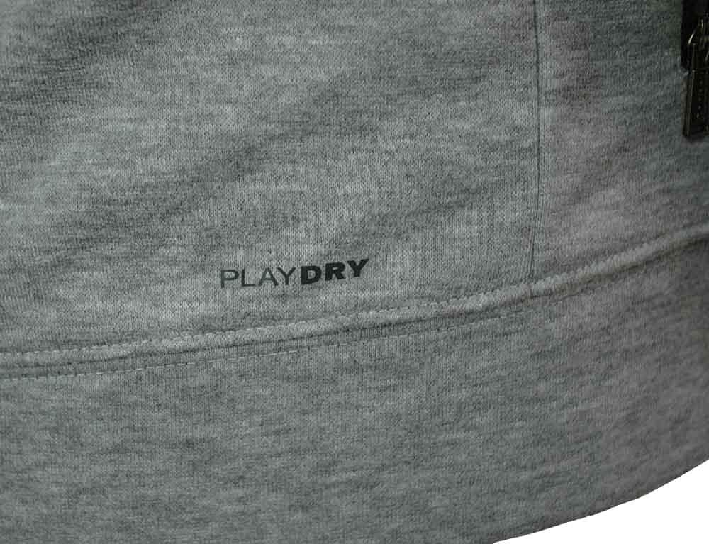 Reebok SE Fabmix Track Jacket Herren PlayDry Slim Fit Trainingsjacke Grau – Bild 5