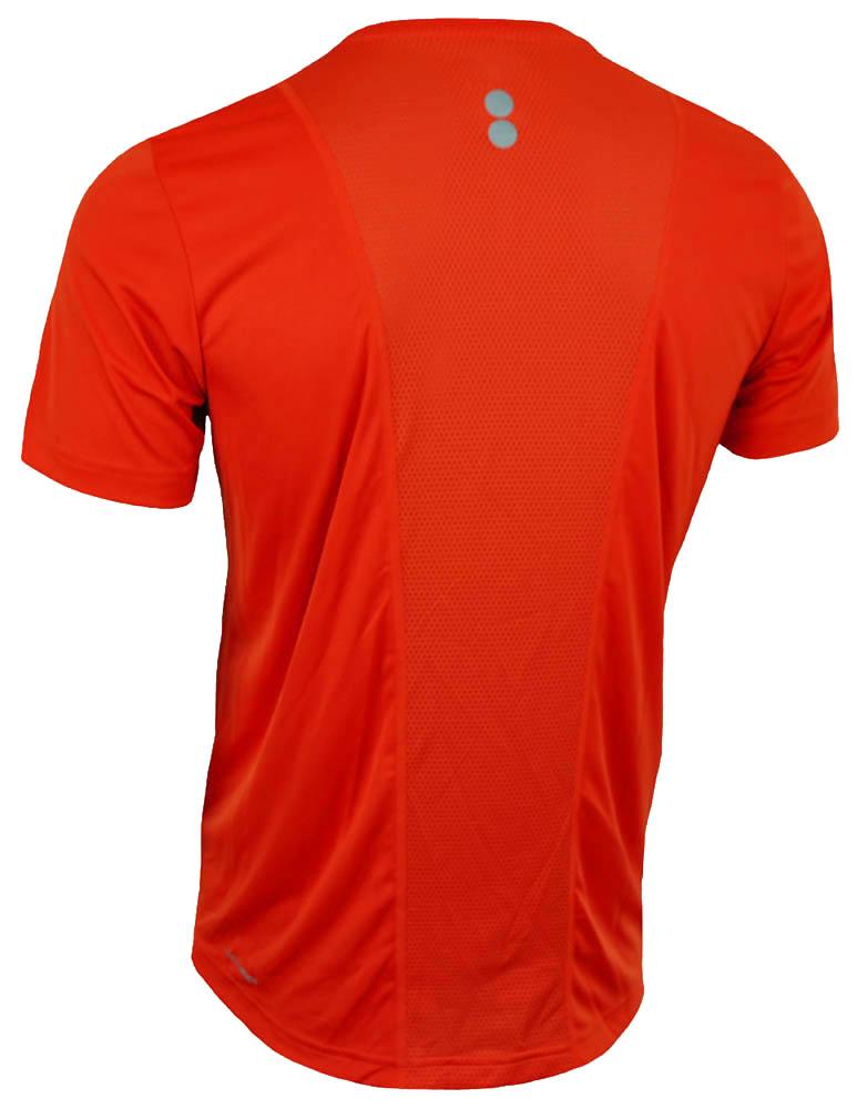 Reebok RE SS Tee CrossFit Herren SpeedWick Reflectivity Running T-Shirt Orange – Bild 3