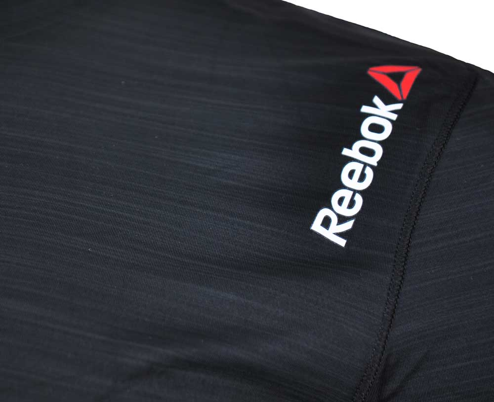 Reebok OS ADV Cool SS Top Tee CrossFit Herren SpeedWick Training T-Shirt Schwarz – Bild 2