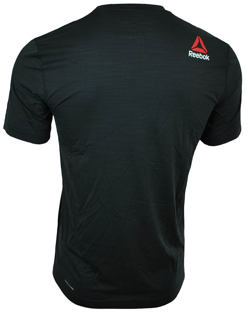 Reebok OS ADV Cool SS Top Tee CrossFit Herren SpeedWick Training T-Shirt Schwarz – Bild 3