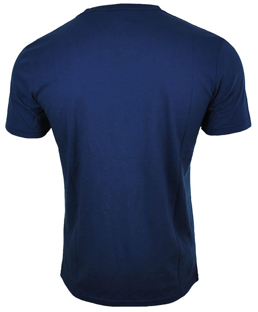 Asics Logo SS Top Tee Herren SportLifestyle Fitness Shirt T-Shirt Indigo Blau – Bild 3
