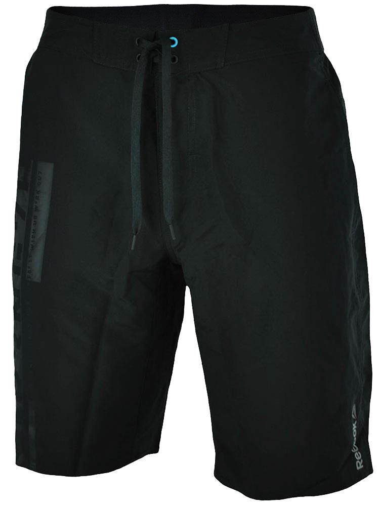 Reebok OS LTWT 1 Short CrossFit Herren PlayDry Funktionsshort Shorts Schwarz