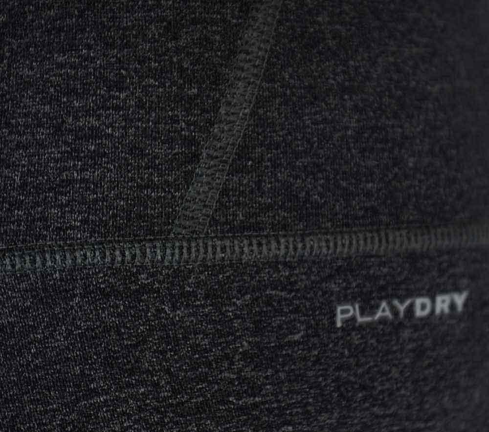 Reebok OS NYLUX Capri Damen Studio Fitness Hose CrossFit PlayDry Short Thight Grau – Bild 5