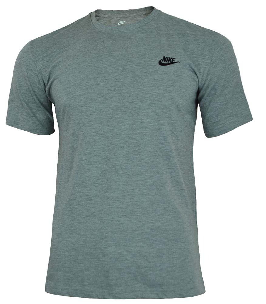 Nike Core Tee Herren Sport Slim Fit Fitness Baumwolle Shirt T-Shirt Grau – Bild 1
