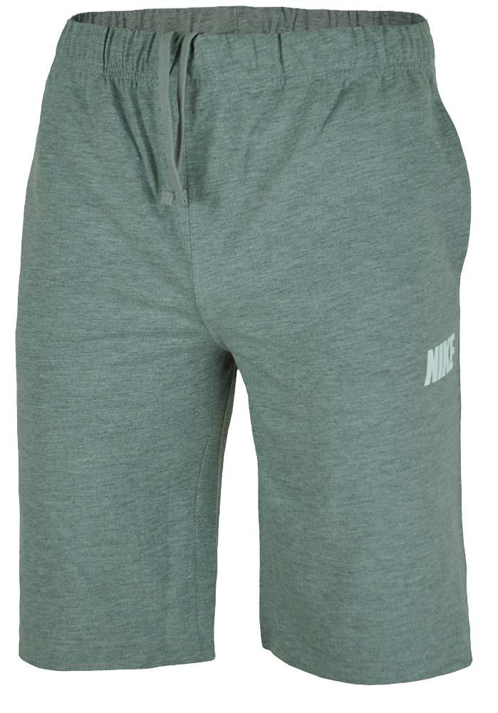 Nike Big Logo Short Herren Shorts Sport Fitness Kurze Hose Bermuda Grau 001