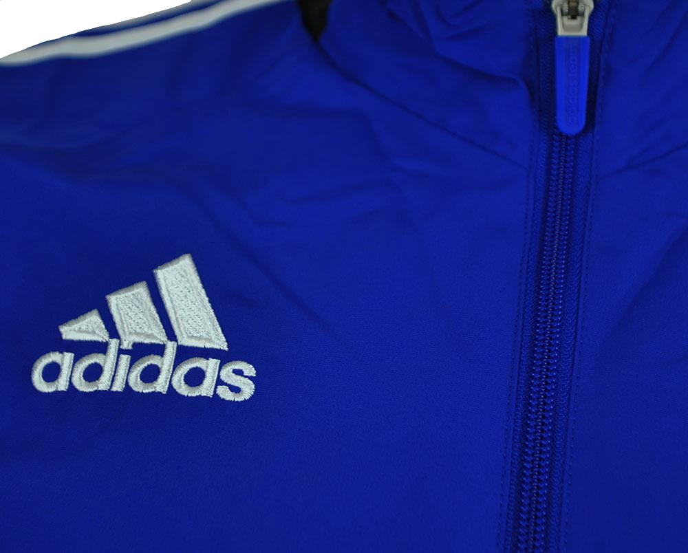 Adidas Con 14 Pre Suit Mens Regular FIT Sportanzug Herren Trainingsanzug Blau – Bild 2