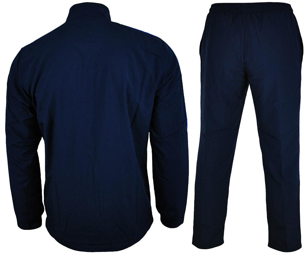 Nike Academy 16 Suit Herren Dri Fit Tracksuit Sportanzug Trainingsanzug Navy/Blau – Bild 5