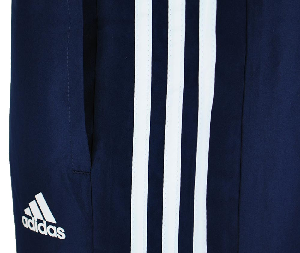 Adidas TS Young Suit ClimaLite Regular FIT Sportanzug Herren Trainingsanzug Navy – Bild 3