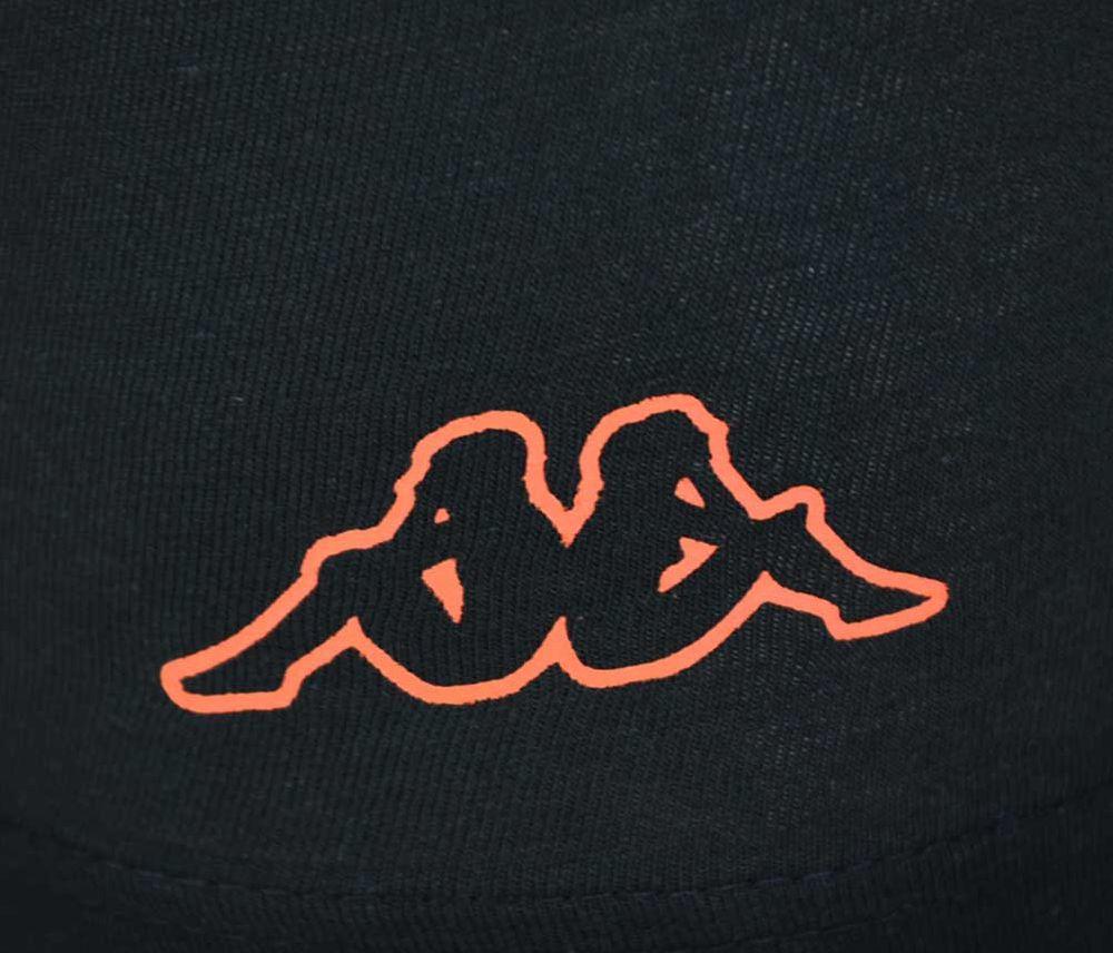 4x Kappa Logo Boxer Short Herren Boxershorts 4 Stück Schwarz/Orange – Bild 2
