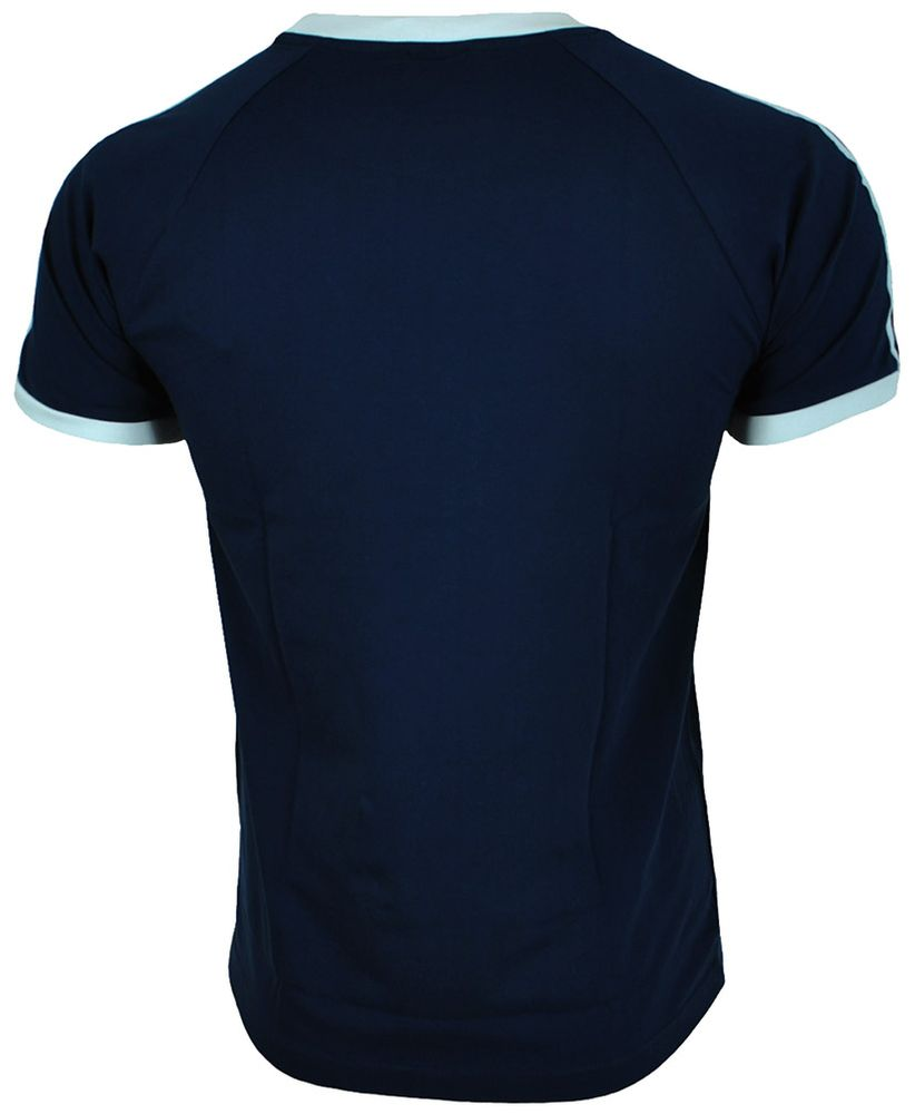 Adidas Sport ESS Tee Trefoil Mens Shirt Originals Retro Herren T-Shirt Navy – Bild 4