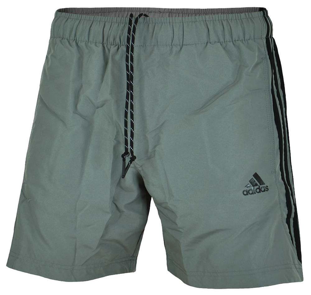 Details zu Adidas ESS 3S Chelsea Shorts Herren ClimaLite Short  Funktionsshort Hose Grau