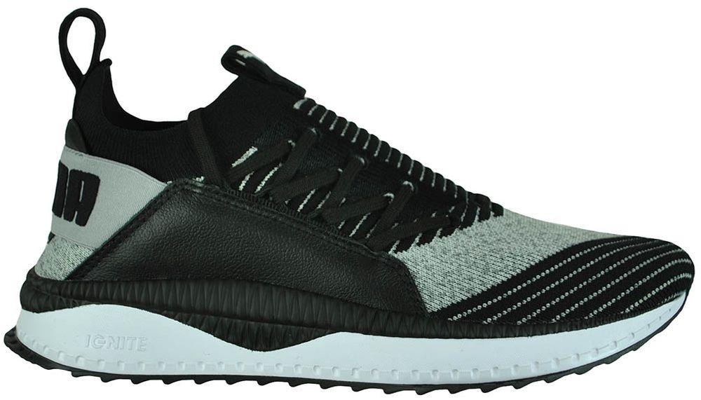 Puma Tsugi Jun Mens Sneaker Herren Sportschuhe Freizeitschuhe Schwarz 001