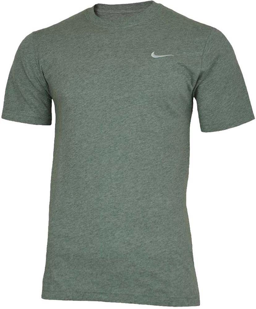 Nike Classic Tee Herren Sport Regular Fit Fitness Baumwolle Shirt T-Shirt Grau