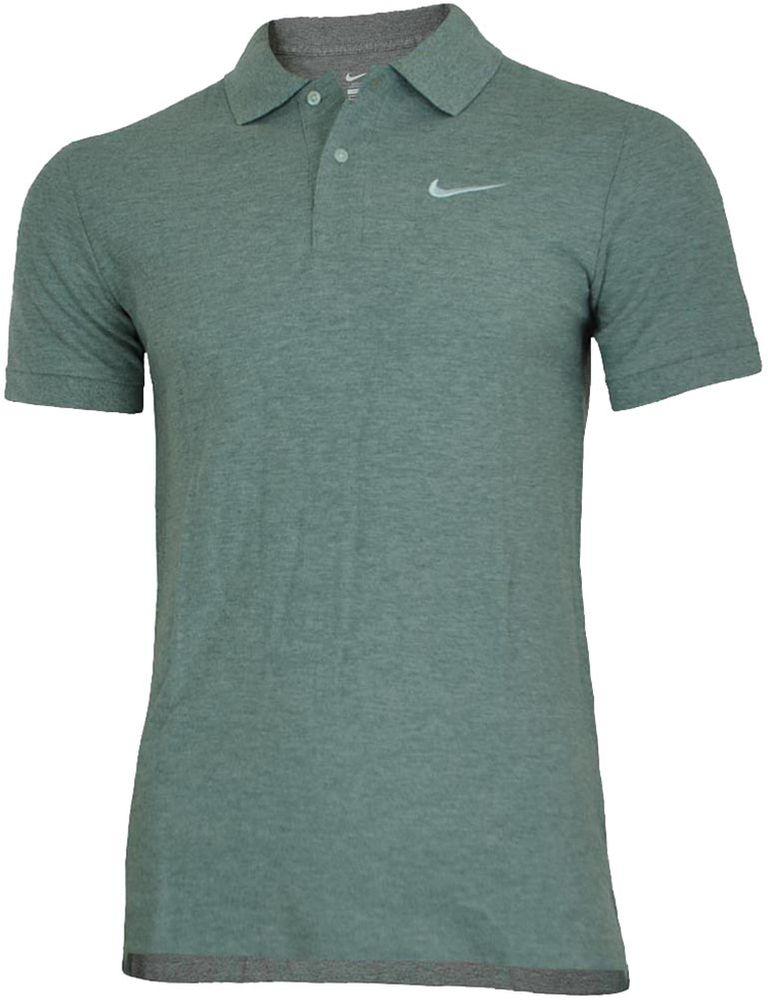 Nike Classic Polo Herren Sport Fitness Baumwolle poloshirt Shirt Grau – Bild 1