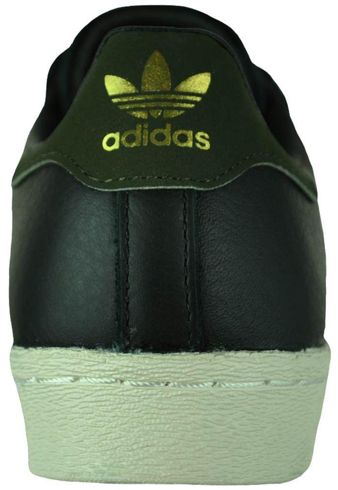 Adidas superstars 80s grau Leder sneaker