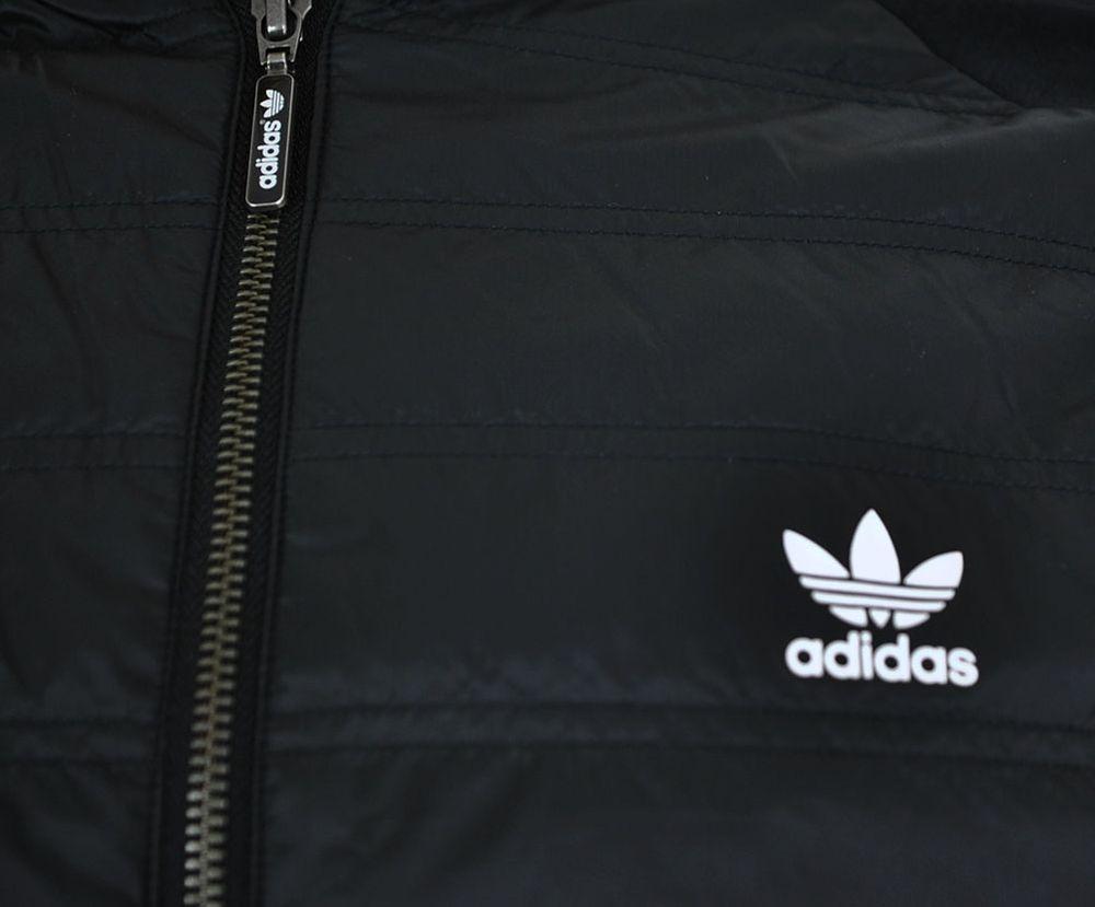 Adidas SST TT Quilted Originals Trefoil Herren Primaloft Track Top Jacket Jacke Schwarz – Bild 2