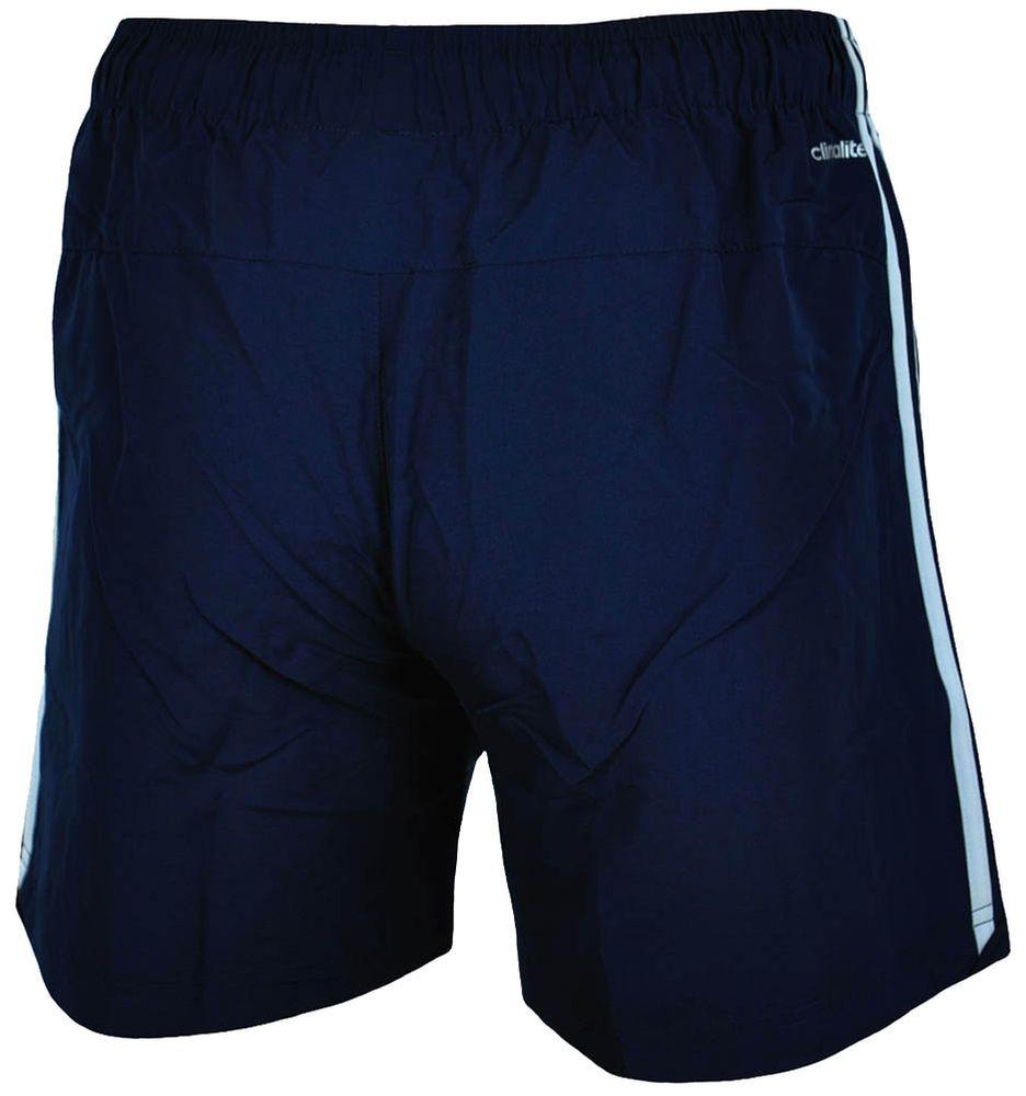 Adidas ESS 3S Chelsea Shorts Herren ClimaLite Funktionsshort Kurze Hose Navy/Weiß – Bild 6