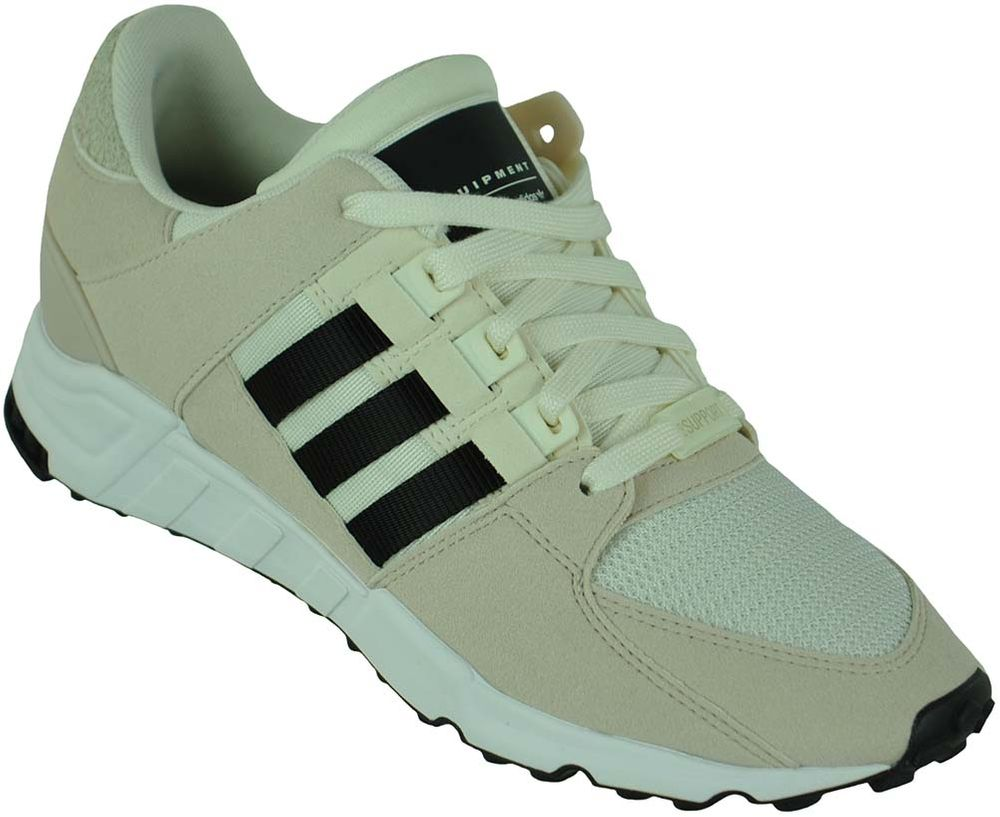 pretty nice 1ebae fa531 Adidas EQT Support RF Trainers Originals Trefoil Men's Shoes Sneaker White