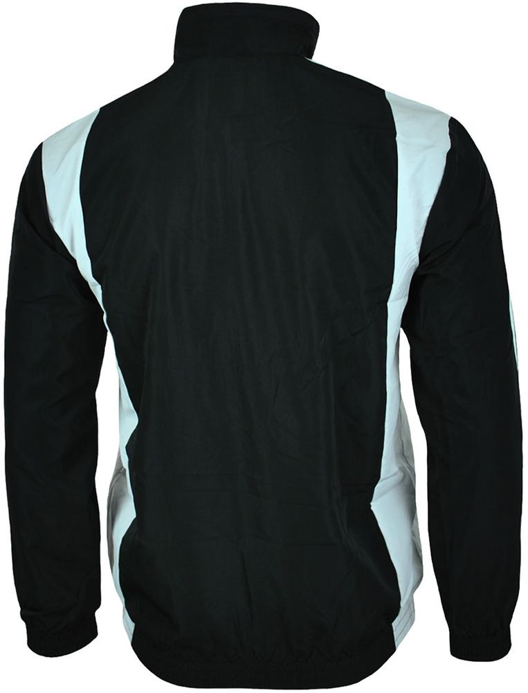 Adidas TS Basic 3S Herren Trainingsjacke Jacke Track Jacket Schwarz – Bild 6