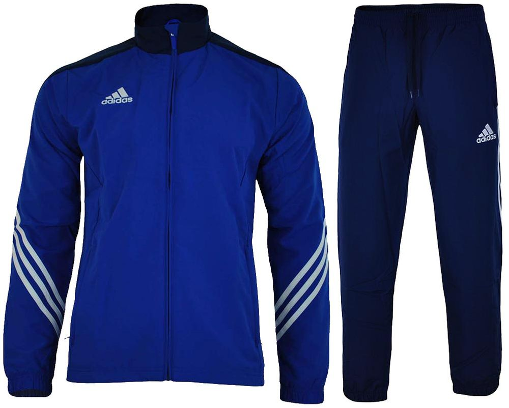 Adidas Sere 14 Pre Suit Mens Regular FIT Sportanzug Herren ...