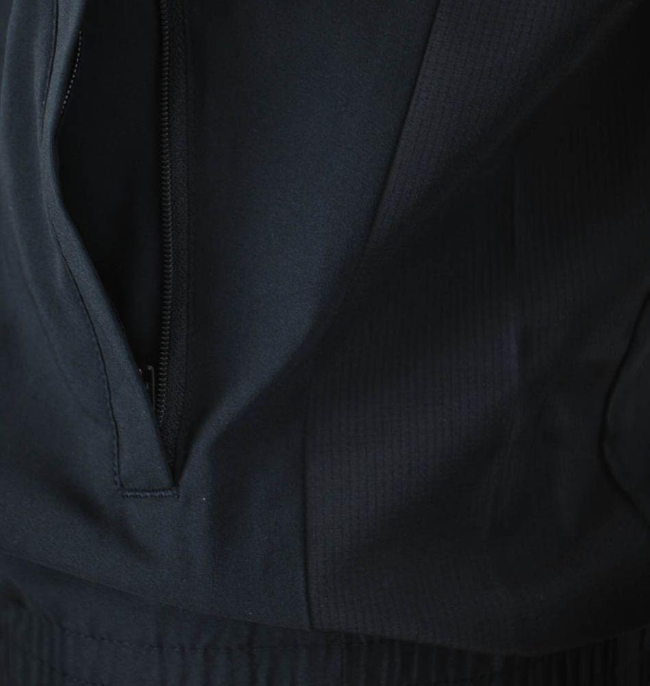 Adidas TS ESS Woven Suit Mens ClimaLite Sportanzug Herren Trainingsanzug Schwarz – Bild 3