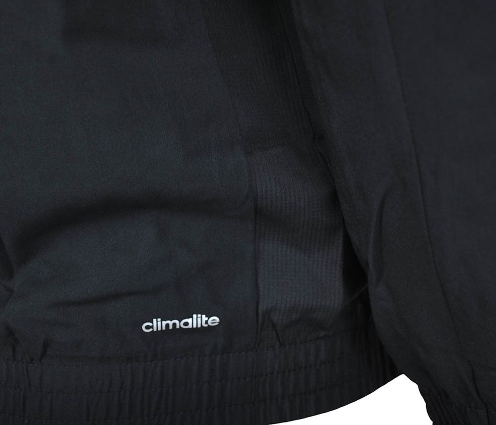 Adidas TS ESS Woven Suit Mens ClimaLite Sportanzug Herren Trainingsanzug Schwarz – Bild 8