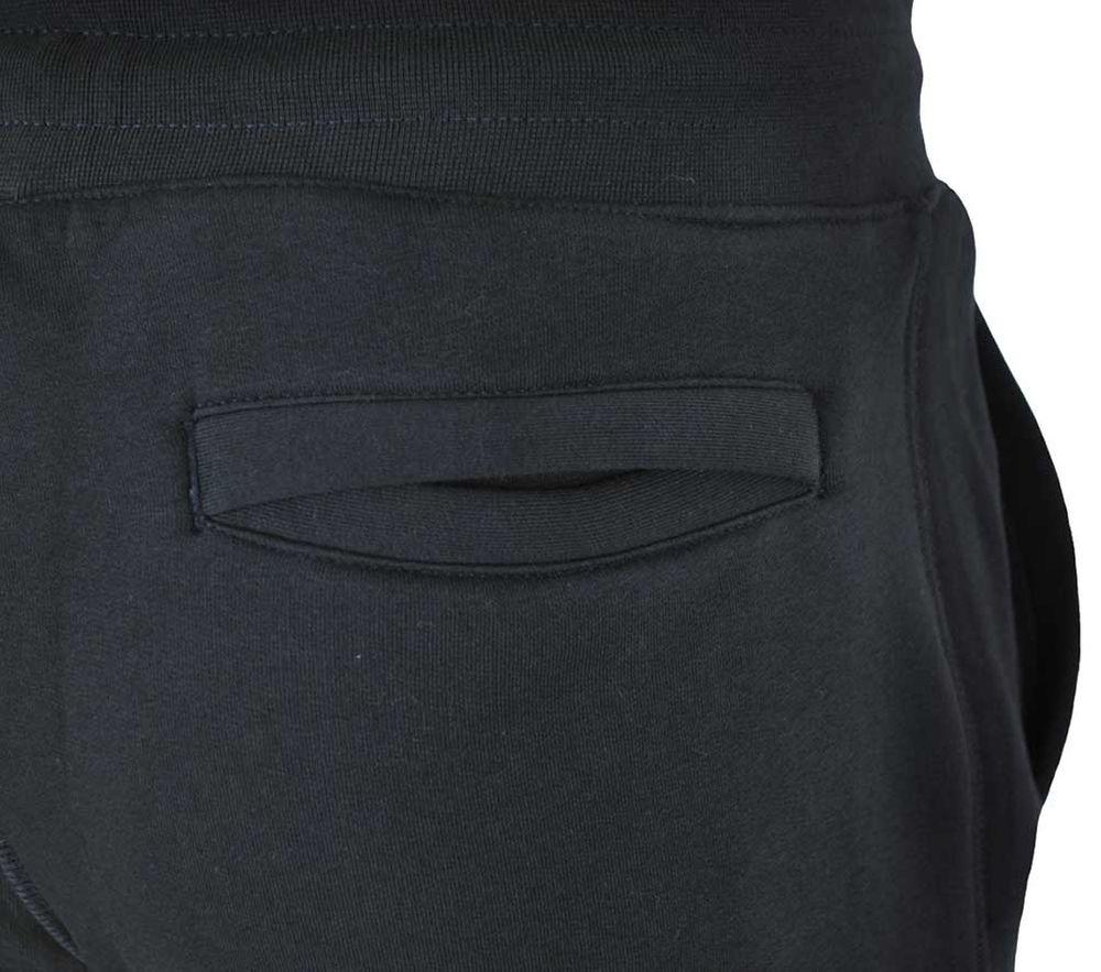 Nike Air NSW FL Sweat Pants Herren Sporthose Sweathose Freizeit Schwarz/Rot – Bild 5