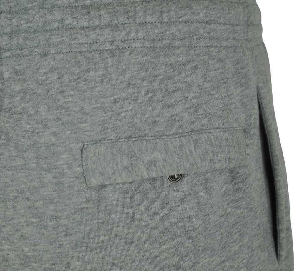 Nike Classic Swoosh Club Sweat Pants Herren Sporthose Trainingshose Hellgrau – Bild 5