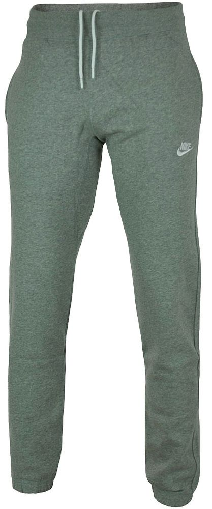 Nike Stitch cuffed Club Sweat Pants Herren Sporthose Trainingshose Hellgrau – Bild 1