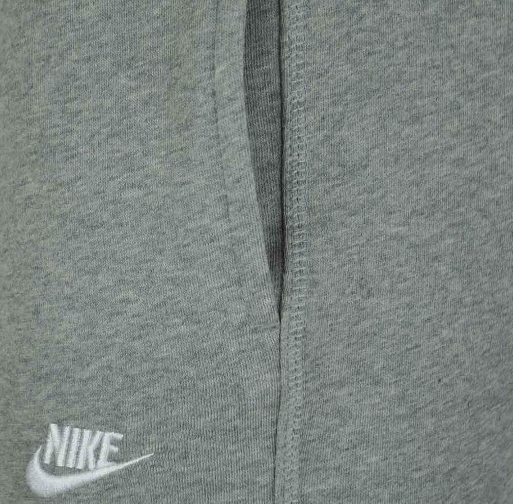 Nike Stitch cuffed Club Sweat Pants Herren Sporthose Trainingshose Hellgrau – Bild 3