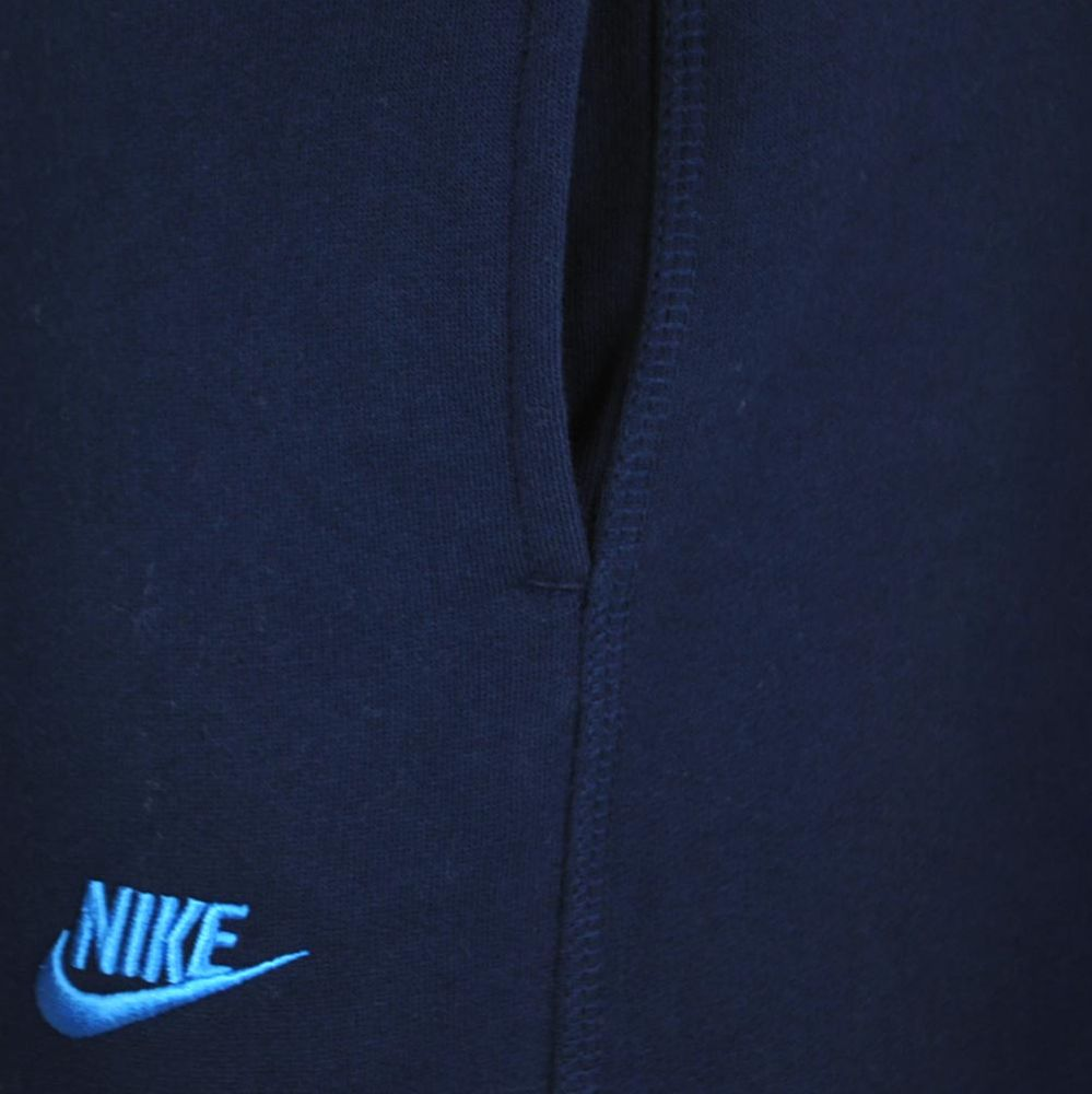 Nike Stitch cuffed Club Sweat Pants Herren Sporthose Trainingshose Navy – Bild 3