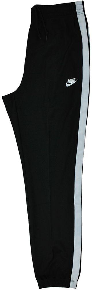 Nike Tribute Track Pants Herren Sporthose Trainingshose Schwarz/Weiß – Bild 8