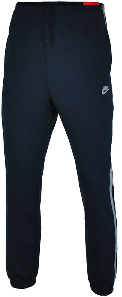 Nike Tribute Track Pants Herren Sporthose Trainingshose Navy/Grau
