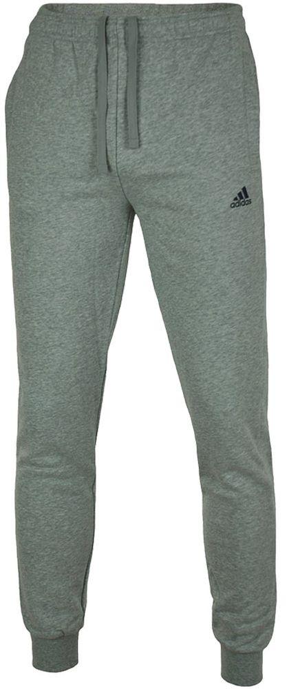 Adidas ESS S Pant FT Slim Fit Herren Sporthose Trainingshose Hellgrau – Bild 1