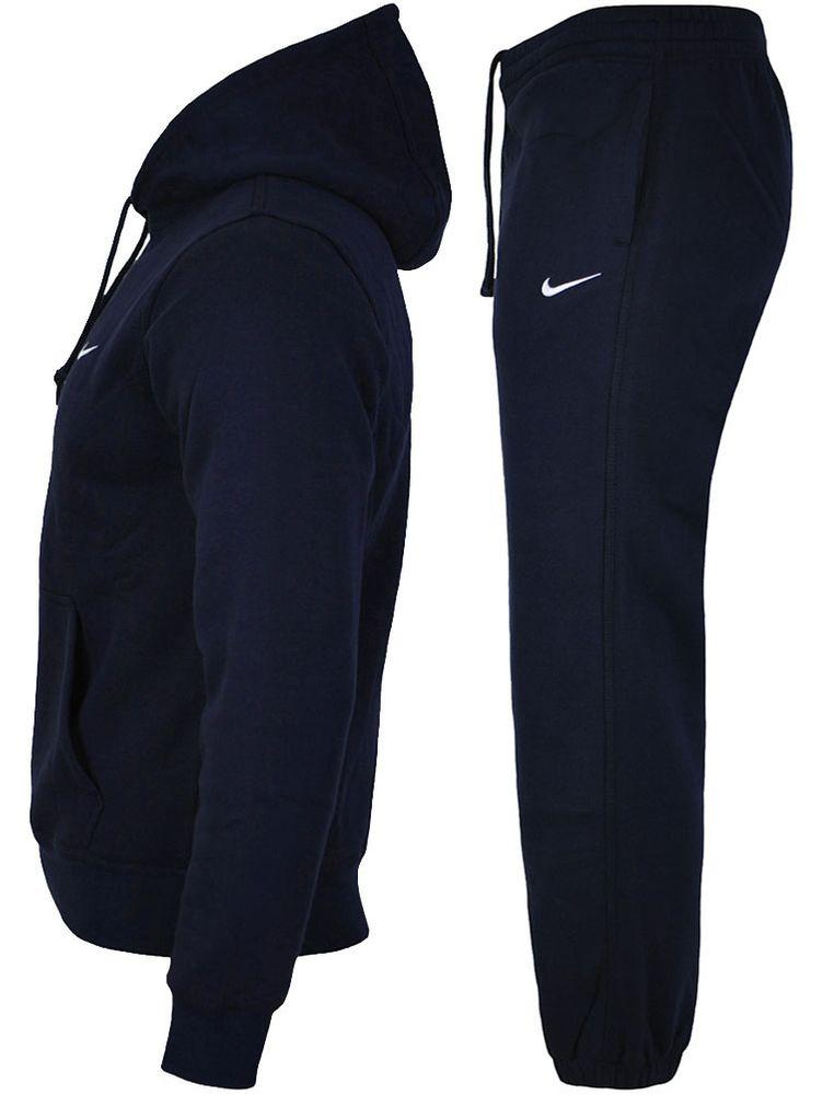 Nike Herren Trainingsanzug Club 19 Sweat Suit AJ1313+AJ1468