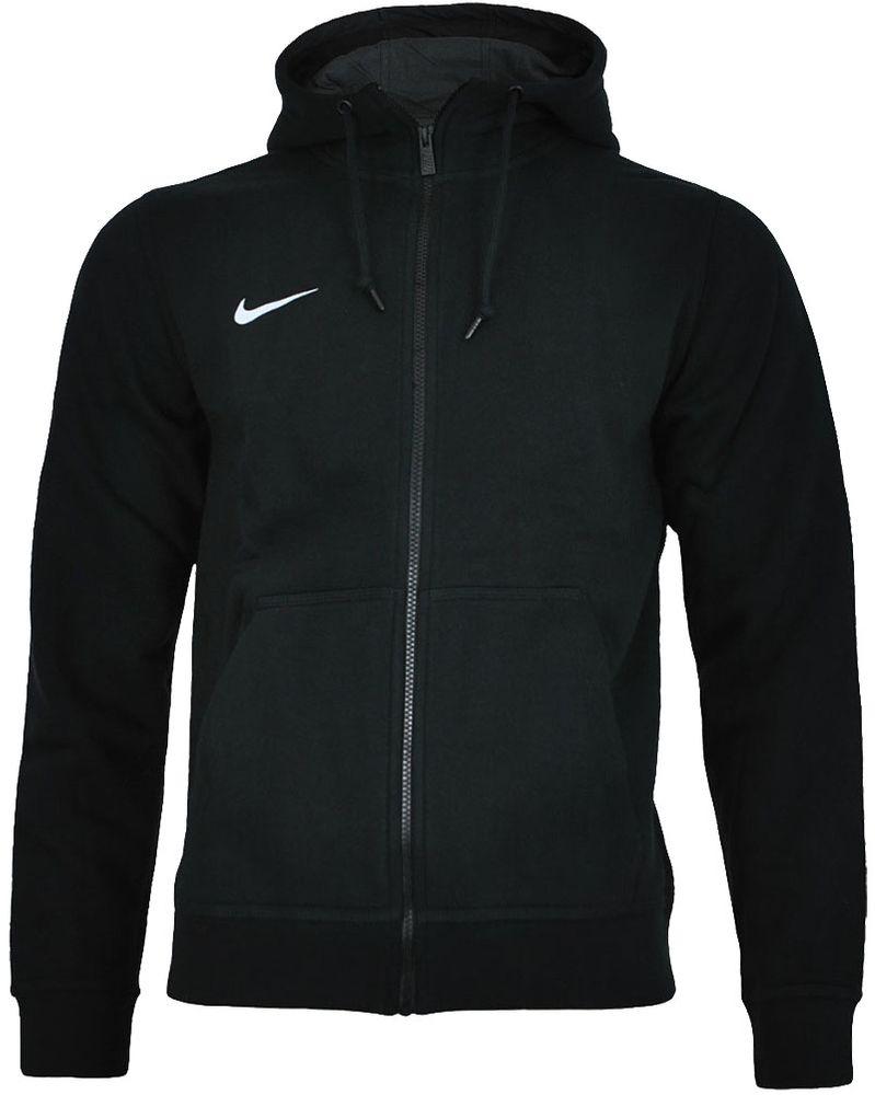 Nike Classic Full Zip UP Hoody Club Hoodie Herren Kapuzenpullover Sweatjacke Schwarz – Bild 1