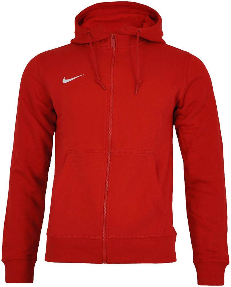 Nike Classic Full Zip UP Hoody Club Hoodie Herren Kapuzenpullover Sweatjacke  Rot 22a8bbe60a