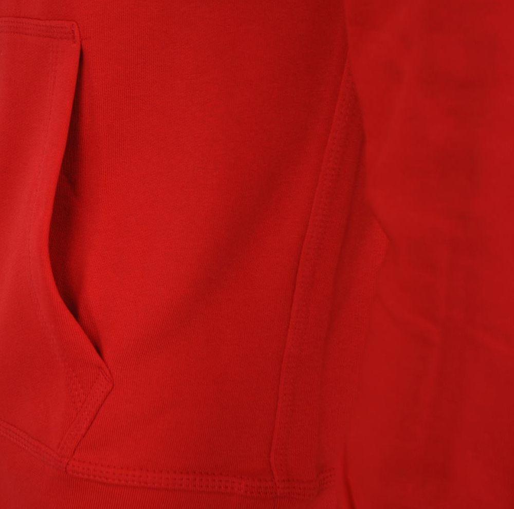 Nike Classic Full Zip UP Hoody Club Hoodie Herren Kapuzenpullover Sweatjacke Rot – Bild 4