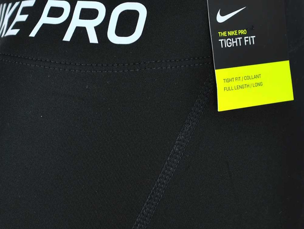 Nike NP Tight PRO COOL Dri Fit Damen Studio Fitness Sporthose Schwarz – Bild 4