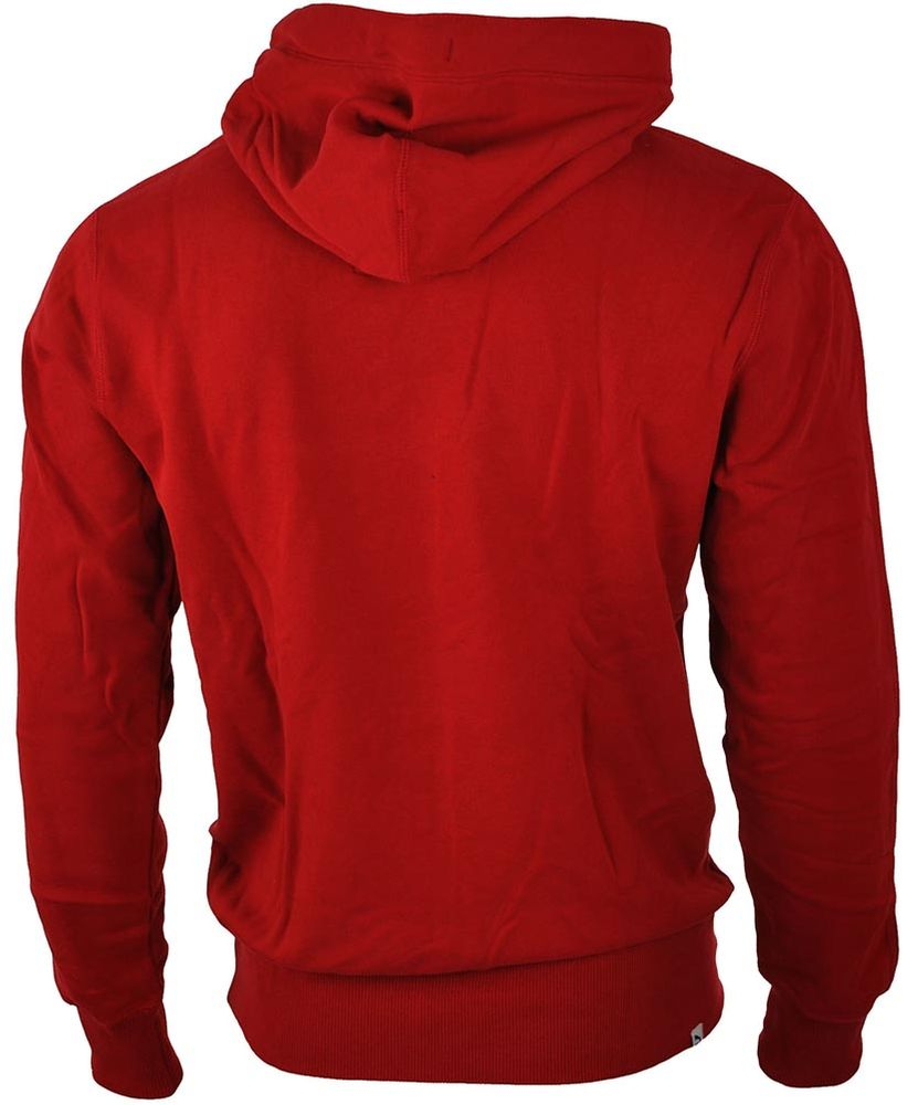 Puma Archive Logo Hoody Mens Herren Kapuzenpullover Sweatshirt Rot – Bild 2